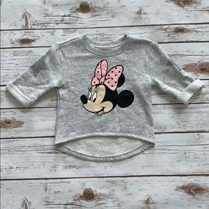 Old Navy Minnie Mouse Sweater- Size 18-24 months